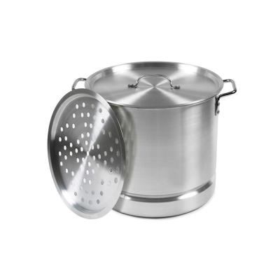 Aluminum 20 Qt. Tamale and Seafood Steamer