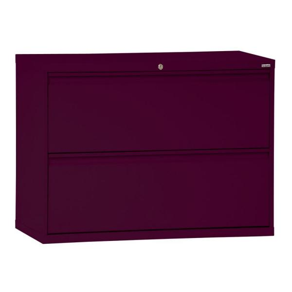 Sandusky 800 Series 36 in. W 2-Drawer Full Pull Lateral File