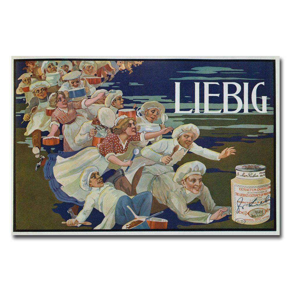 22 in. x 32 in. Extracum Carnis Liebig Canvas Art