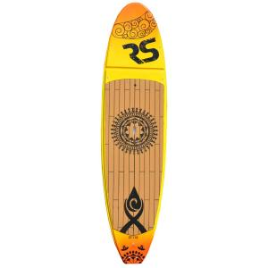 Click here to buy RAVE Sports Core Crossfit Stand Up Paddle Board for Yoga and Cross-training in Sunset Gold by RAVE Sports.