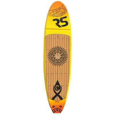 Core Crossfit Stand Up Paddle Board for Yoga and Cross-training in Sunset Gold