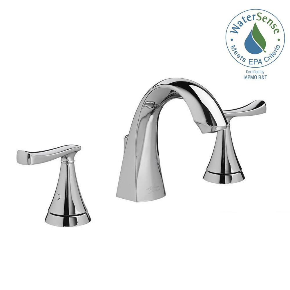 American Standard Chatfield 8 In Widespread 2 Handle Bathroom Faucet Polished Chrome