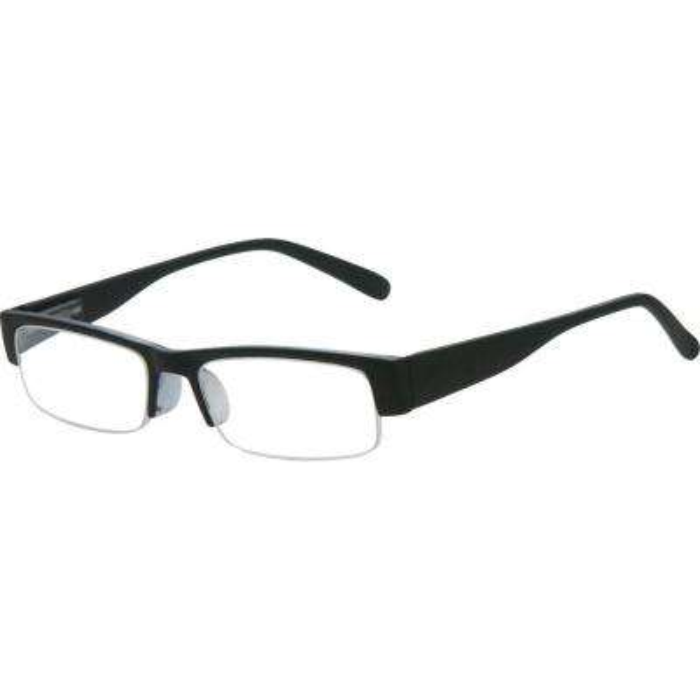Aspen Black Men's 1.50 Diopter Reading Glasses