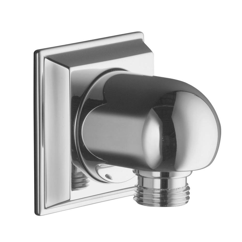 null Memoirs Wall-Mount Supply Elbow, Polished Chrome