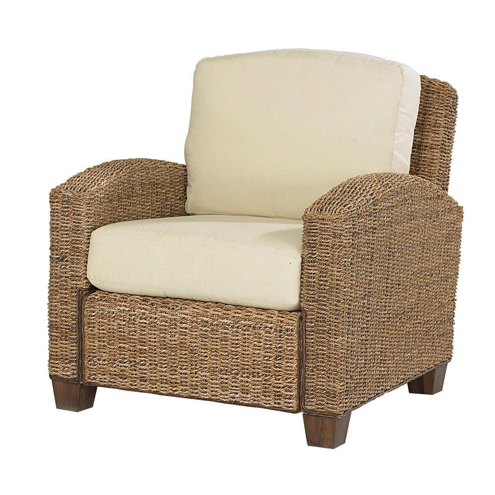 Home Styles Cabana Banana Honey Banana Leave Arm Chair
