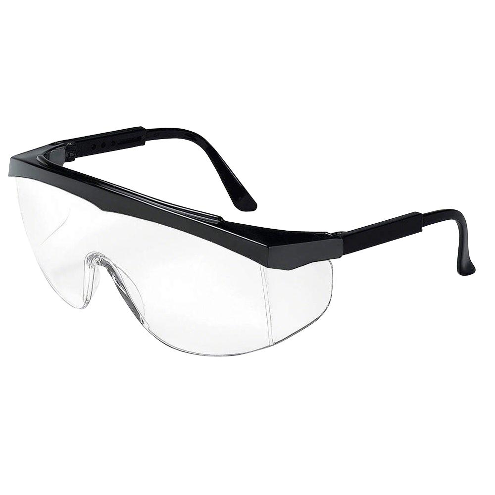 mcr safety stratos wraparound design glassesmcscrwss110