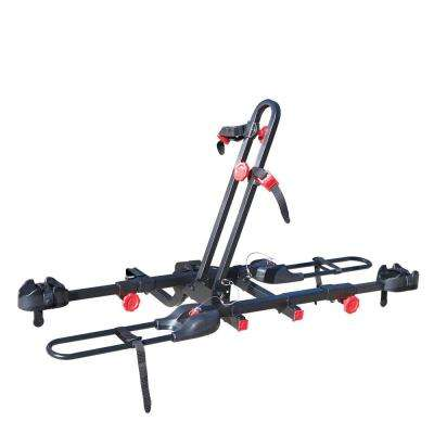 70 lbs. Capacity Easy Load 2-Bike Vehicle 2 in. and 1.25 in. Hitch Bike Rack