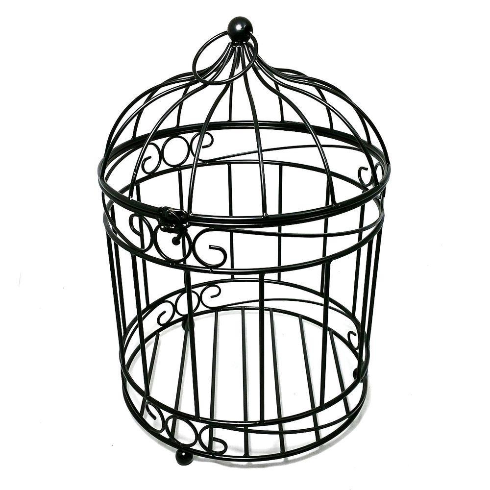 Patio Life 12 In Dia Casablanca Bird Cage Steel Planter
