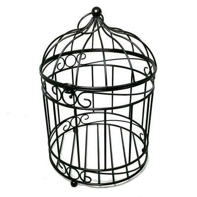 12 in. Dia Casablanca Bird Cage Steel Planter