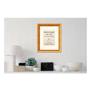 Amanti Art Townhouse 10 inch x 13 inch White Matted Gold Picture Frame by Amanti Art