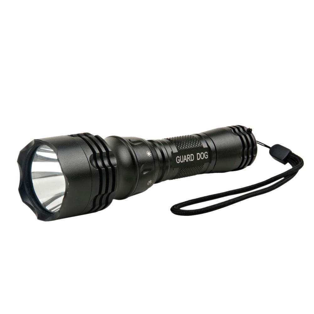 Marina 360-Lumen 5 Function Fully Waterproof, Quick Set Dial Tactical Flashlight