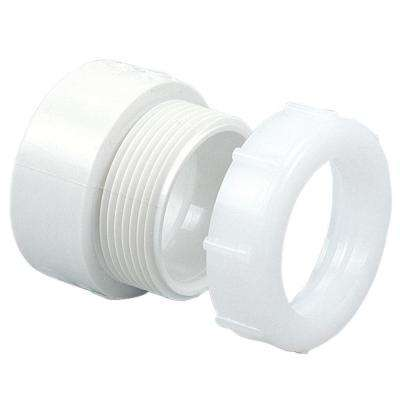 1-1/2 in. PVC DWV Hub x SJ Trap Adapter
