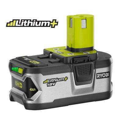 18-Volt ONE+ Lithium-Ion High Capacity Lithium+ Battery Pack 4.0Ah