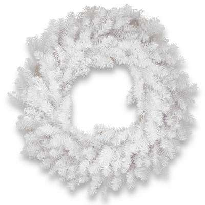 30 in. Dunhill White Fir Wreath
