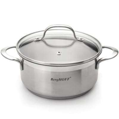 Bistro 1.5 Qt. Stainless Steel Casserole with Glass Lid
