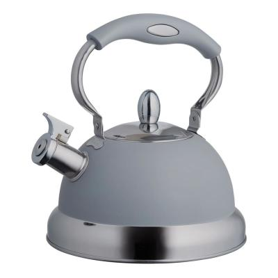 Living 10 cup Gray Stovetop Tea Kettle