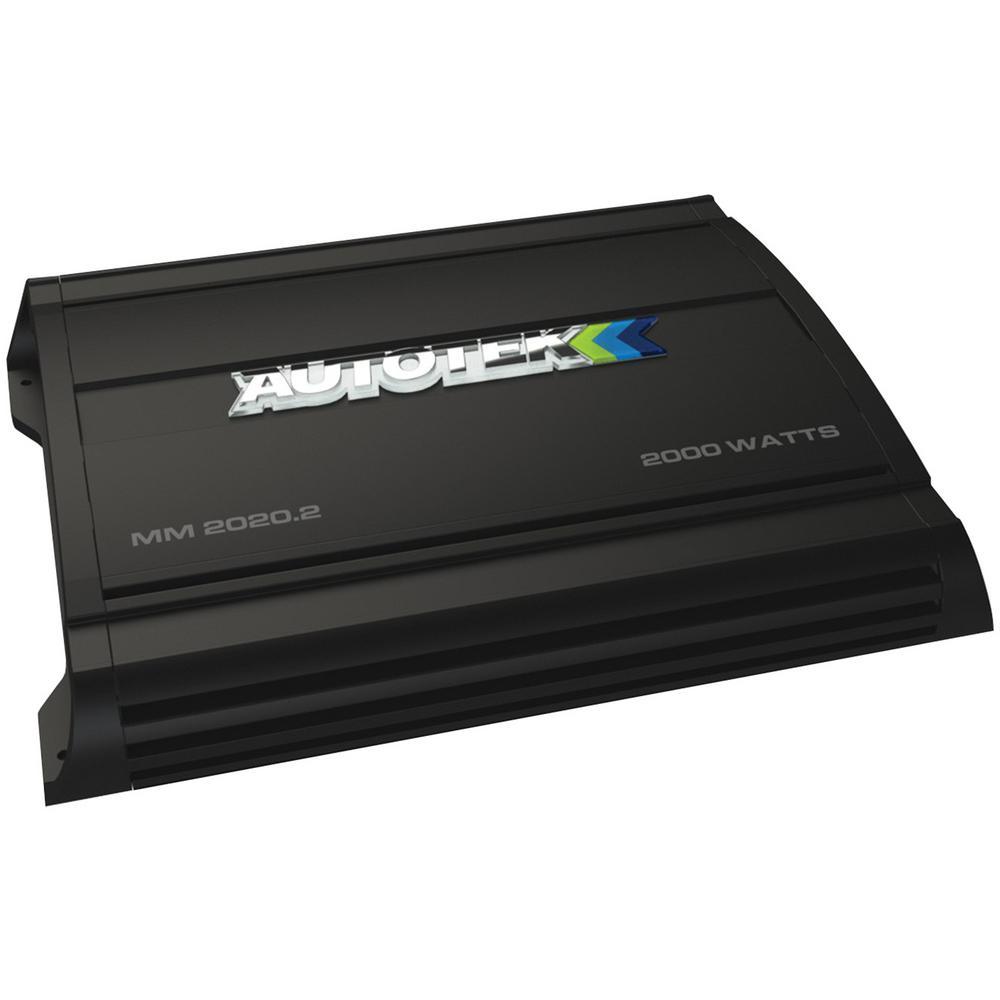 The Mean Machine 2,000-Watt 2-Channel Class AB Amplifier