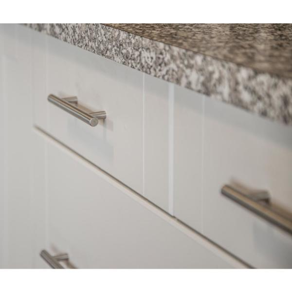 Design House Truss 5 1 16 In Stainless Steel Cabinet Hardware Center To Center Pull 205641 The Home Depot