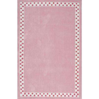 Mauldin Pink 8 Ft X 10 Area Rug