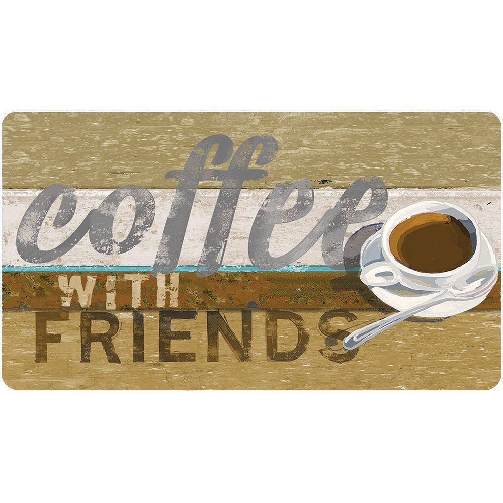 TrafficMASTER Coffee 20 In. X 36 In. Foam Mat