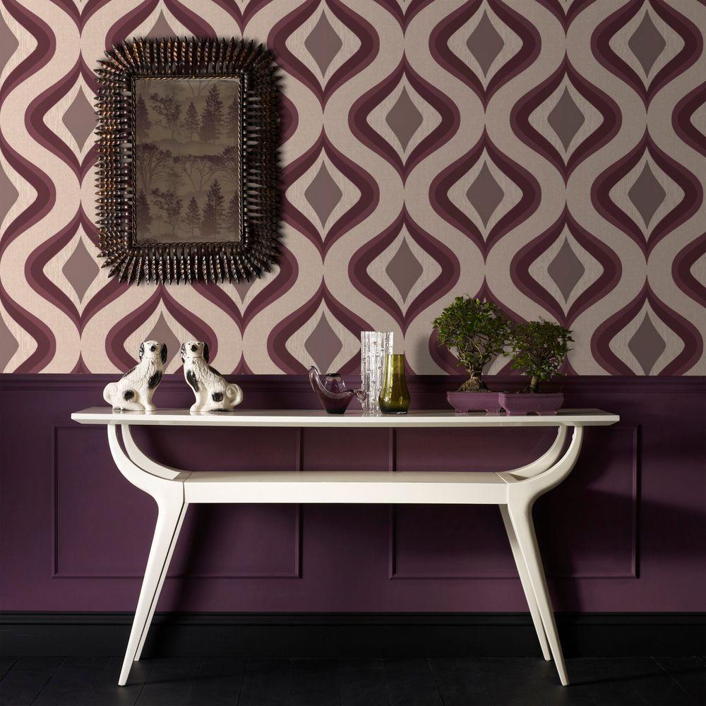 Trippy Purple Wallpaper