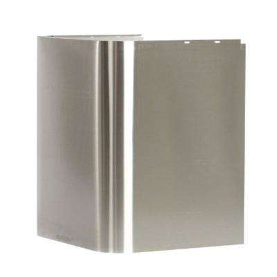 41 in. High Stainless Steel Duct Cover