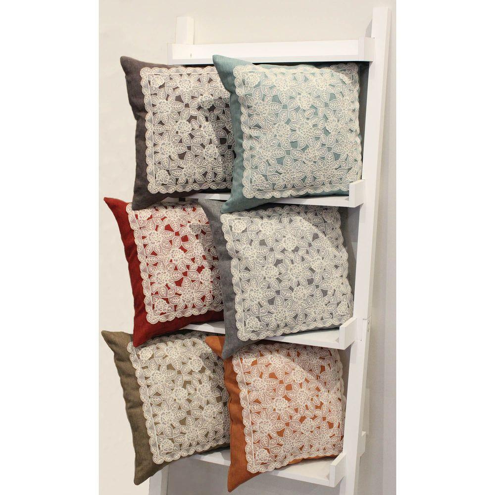 Gretta Rust Polyester Slip Covers (Set of 2)