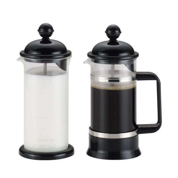 BonJour La Petite 3-Cup French Press in Black 53521