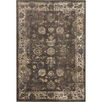 Vintage Anthracite 9 ft. x 12 ft. Area Rug