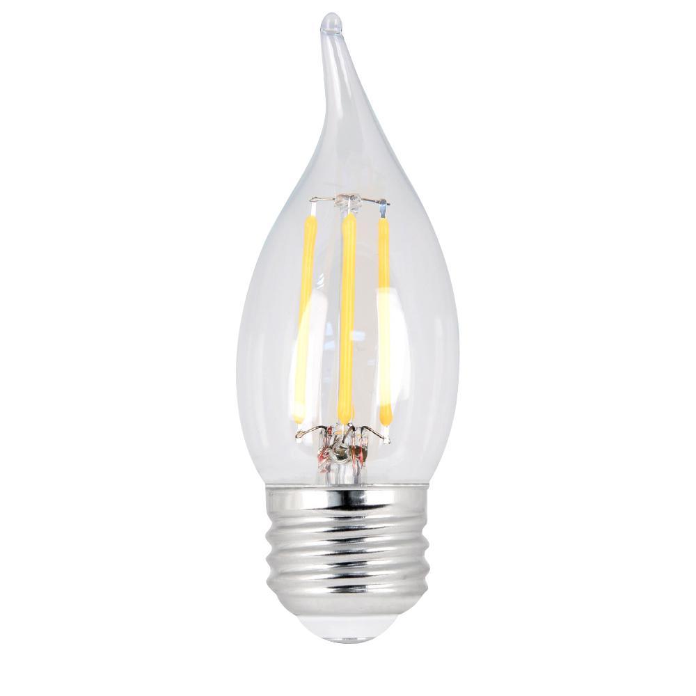 Feit Electric 40w Equivalent Soft White 2700k Ca10: Feit Electric 40W Equivalent Soft White CA10 Dimmable