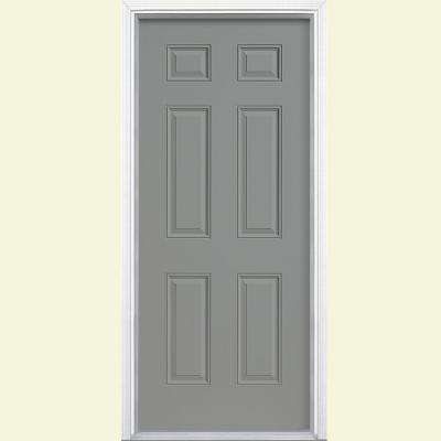 32 X 80 Gray Energy Star Front Doors Exterior Doors The