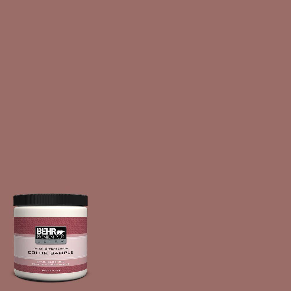 BEHR Premium Plus Ultra 8 oz. #170F-6 Gentle Doe Interior/Exterior Paint Sample