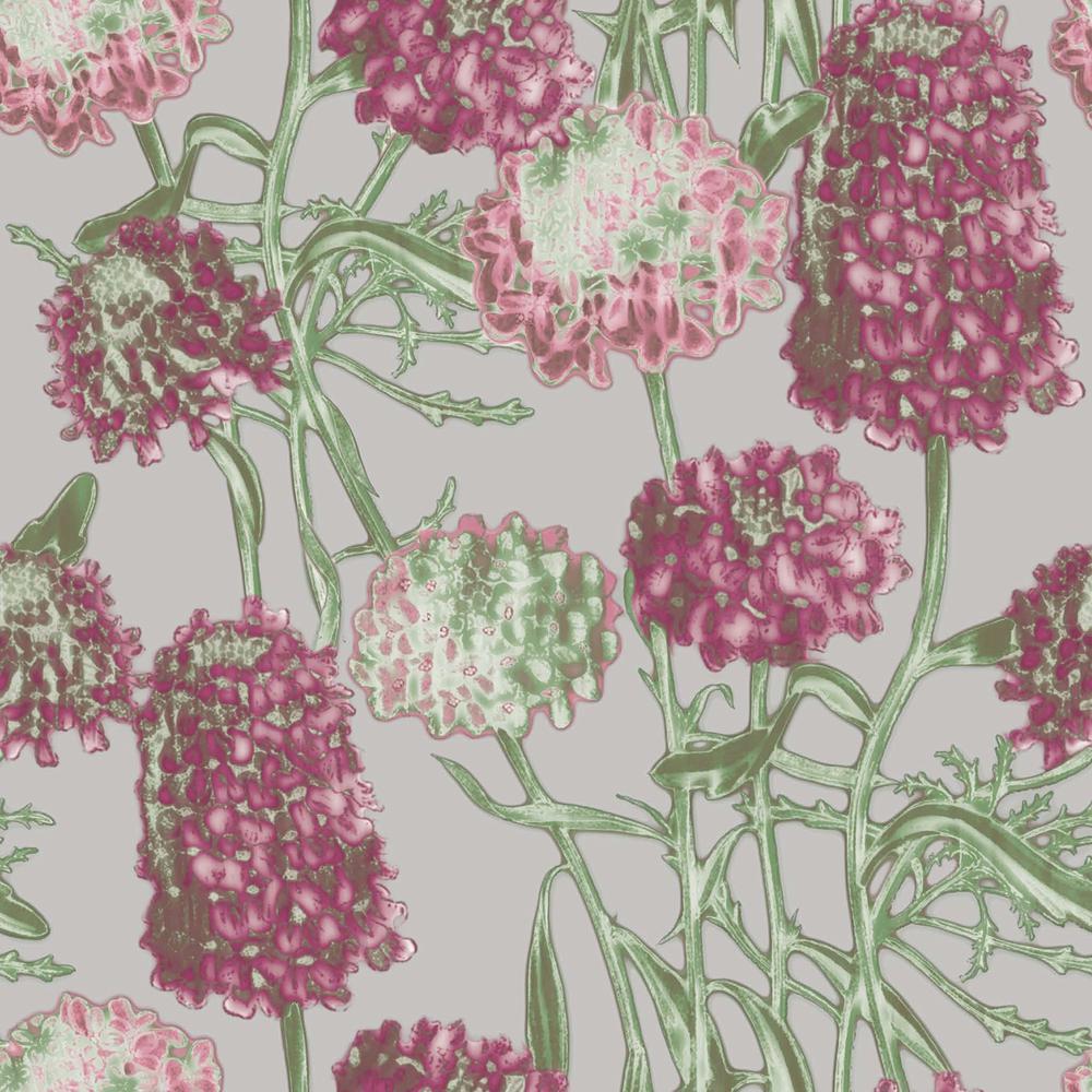 Tempaper Blush Hydrangea Wallpaper