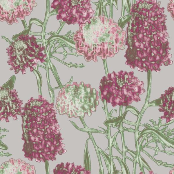 Tempaper Hydrangea Blush Self-Adhesive Removable Wallpaper HY068