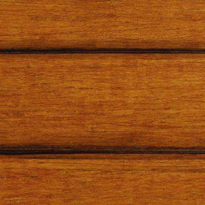 Strand Woven French Bleed 3/8 in. x 5-1/8 in. Wide x 36 in. Length Click Engineered Bamboo Flooring (25.625 sq.ft./case)