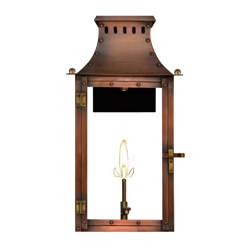 Filament design amelia 1 burner 21 in copper outdoor natural gas filament design amelia 1 burner 21 in copper outdoor natural gas wall lantern arubaitofo Image collections