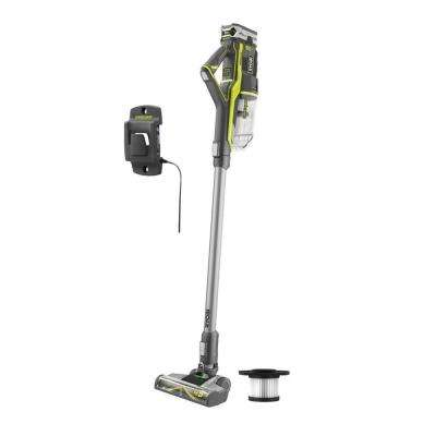 18-Volt ONE+ Lithium-Ion Cordless Stick Vacuum Cleaner with (1) High Capacity 4.0 Ah Battery and (1) Extra Filter