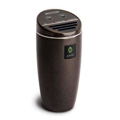 pureAir Motion - Compact for Vehicle, Cluster Ion Technology, Filterless Air Purifier, Black Pearl