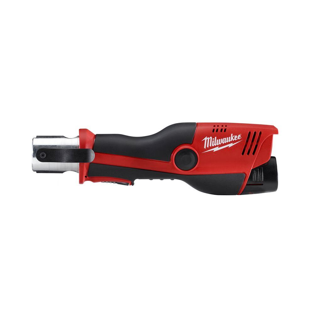 Milwaukee M12 12-Volt Lithium-Ion Force Logic Cordless Press Tool (Tool  Only- No Jaws)-2473-20 - The Home Depot