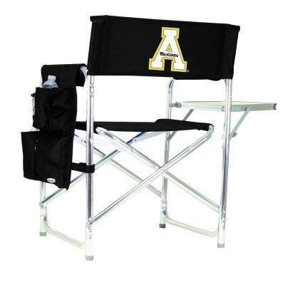 Appalachian State University Black Sports Chair with Digital Logo