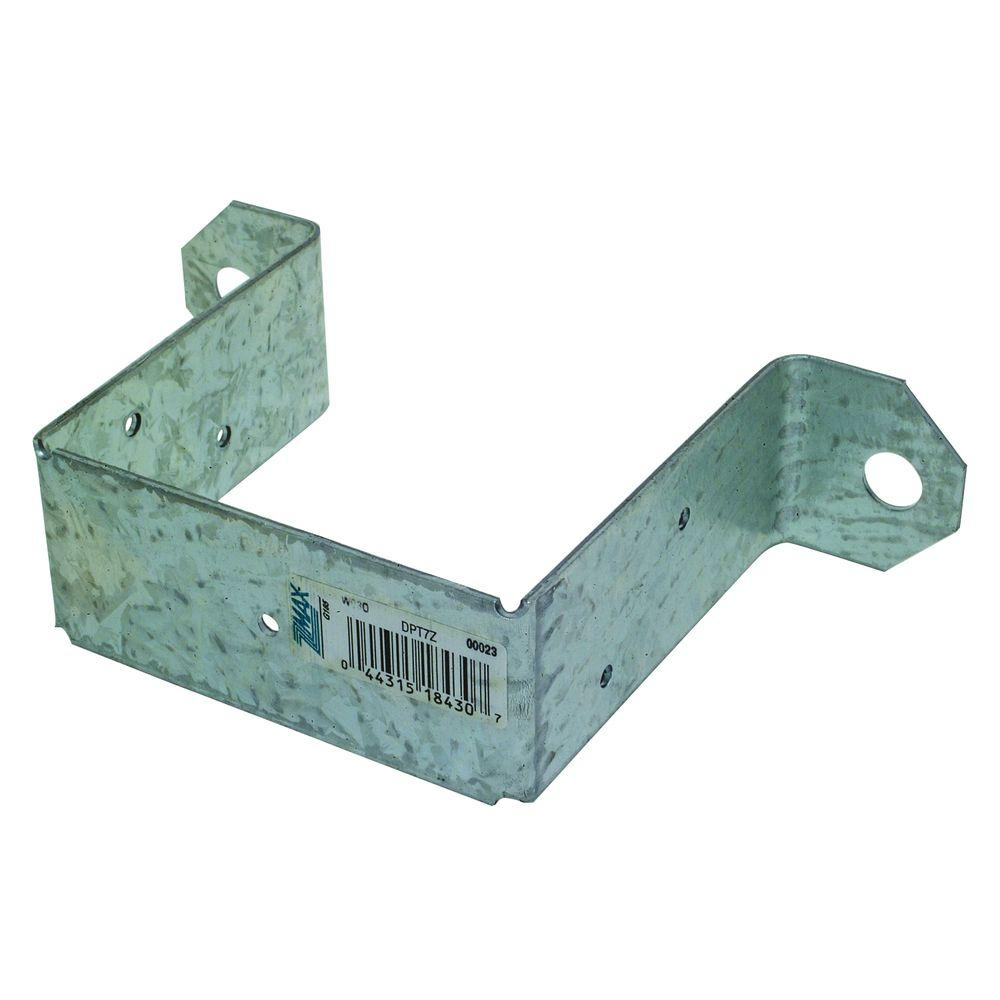 Simpson Strong-Tie DPTZ ZMAX® Galvanized Deck Post Tie for 4x4 Post