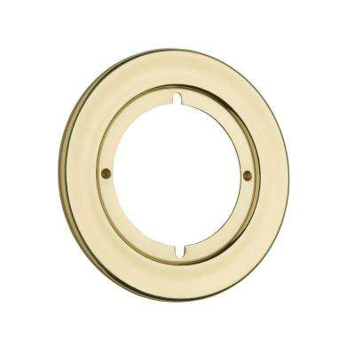 Polished Brass Round Rosette