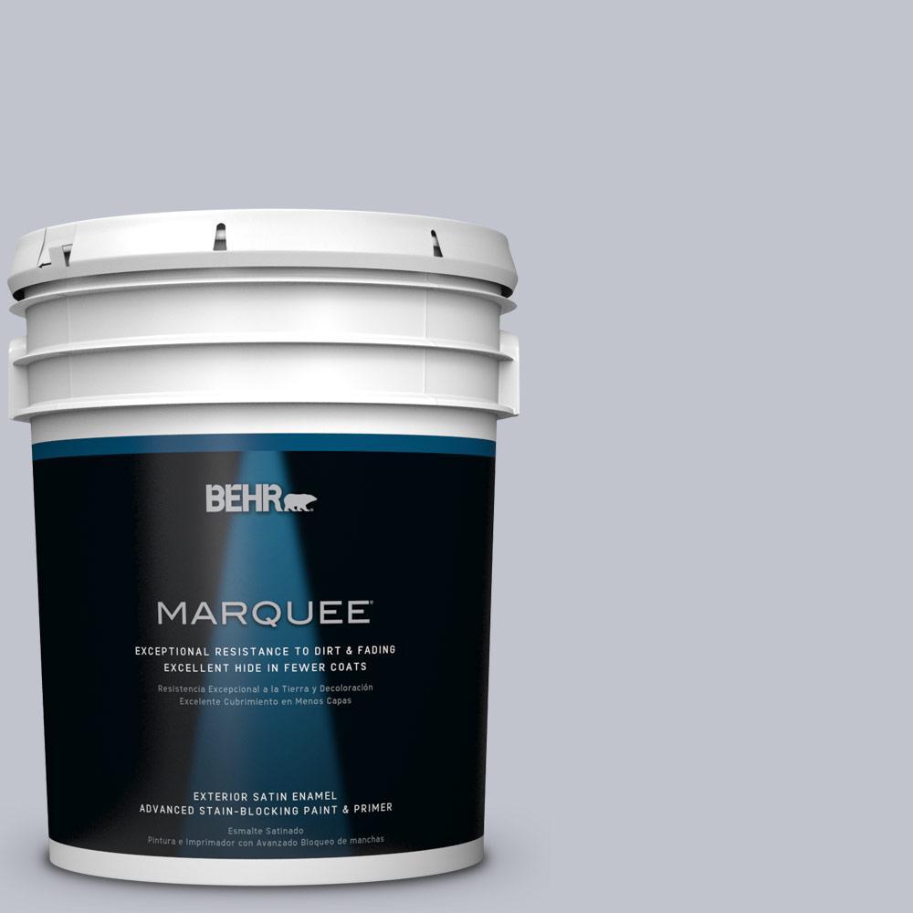 BEHR MARQUEE 5-gal. #N540-2 Glitter Satin Enamel Exterior Paint