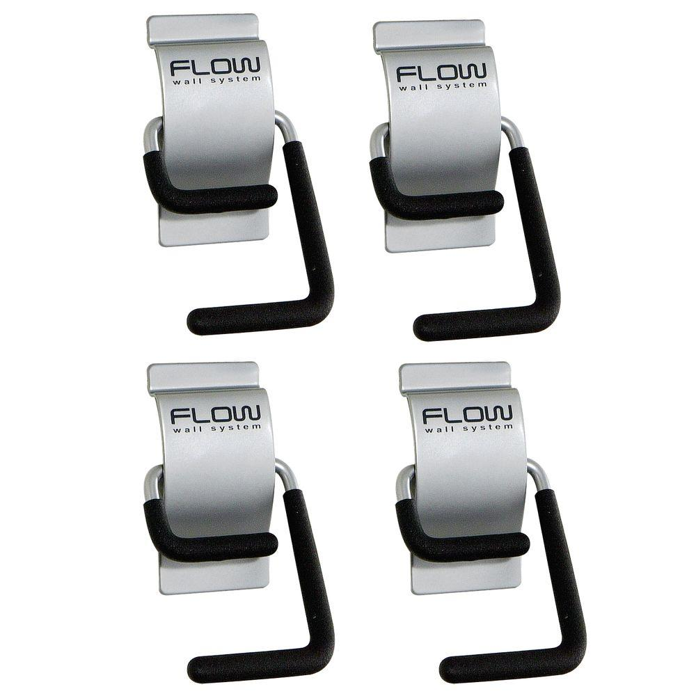 Silver Storage S-Hook (4-Pack)