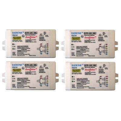 18-Watt Universal Voltage High Power Factor Electronic Ballast for CFL Lamp (4-Pack)