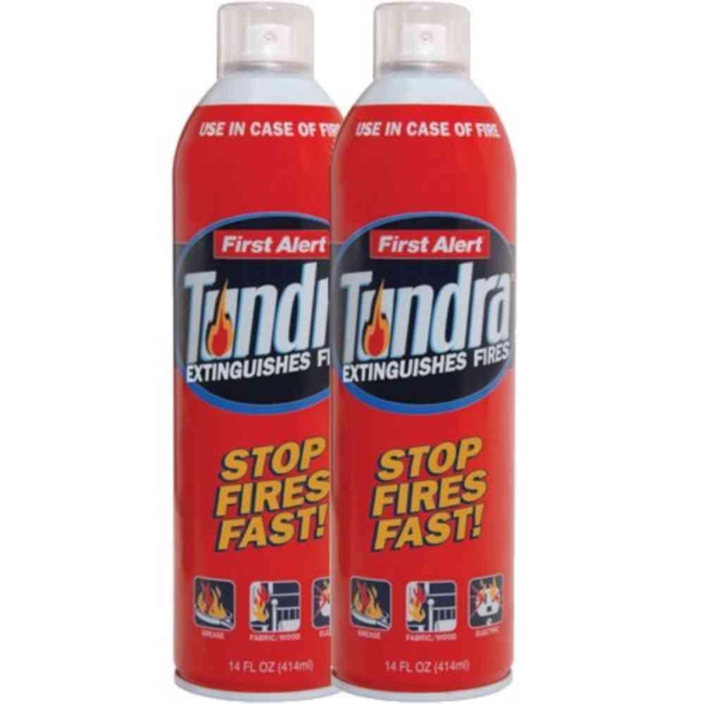 First Alert Tundra Fire Extinguisher Spray 2 Pack Af400