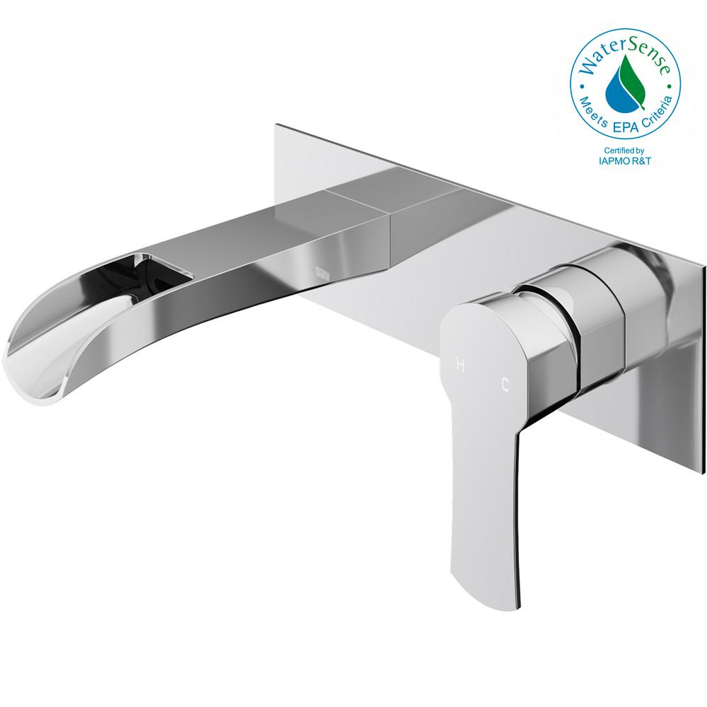 vigo bathroom faucets. VIGO Cornelius Single-Handle Wall Mount Bathroom Faucet In Chrome Vigo Faucets M