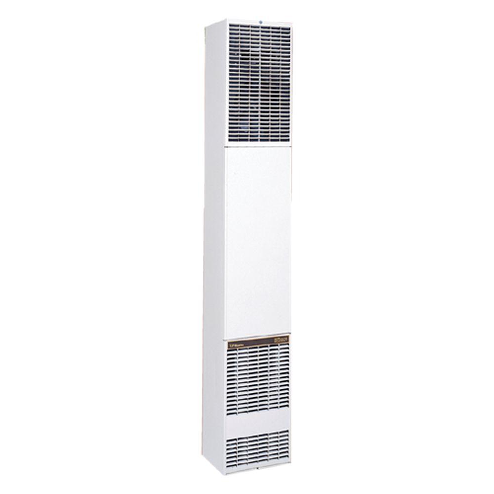 40,000 BTU/hr Counterflow Direct-Vent Wall Furnace Natural Gas Heater