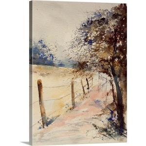 """Watercolor 041106"" by Pol Ledent Canvas Wall Art"
