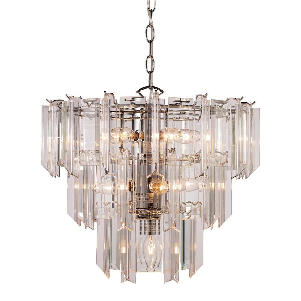 BEL-AIR LIGHTING Tranquility 10-Light Polished Chrome Pendant was $279.55 now $147.34 (47.0% off)